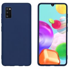 iMoshion Coque Color Samsung Galaxy A41 - Bleu foncé
