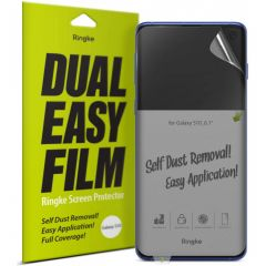 Ringke Duo pack de protections d'écran Samsung Galaxy S10