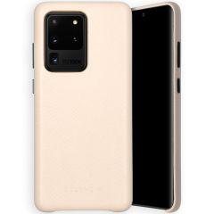 Selencia Coque Gaia Serpent Samsung Galaxy S20 Ultra - Blanc
