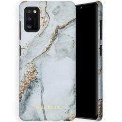 Selencia Coque Maya Fashion Samsung Galaxy A41 - Marble Stone