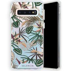 Selencia Coque très protectrice Zarya Fashion Samsung Galaxy S10