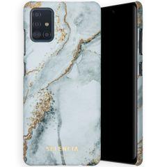 Selencia Coque Maya Fashion Samsung Galaxy A51 - Marble Stone
