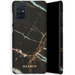 Selencia Coque Maya Fashion Samsung Galaxy A71 - Marble Black