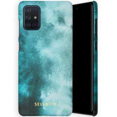 Selencia Coque Maya Fashion Samsung Galaxy A71 - Air Blue