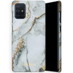Selencia Coque Maya Fashion Samsung Galaxy A71 - Marble Stone