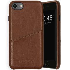 Selencia Coque arrière en cuir végétalien iPhone SE (2020) / 8 / 7/6s