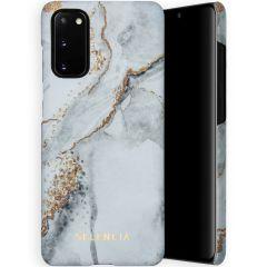 Selencia Coque Maya Fashion Samsung Galaxy S20 - Marble Stone