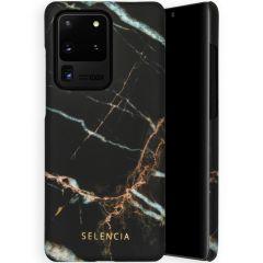 Selencia Coque Maya Fashion Samsung Galaxy S20 Ultra - Marble Black