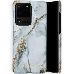 Selencia Coque Maya Fashion Samsung Galaxy S20 Ultra - Marble Stone