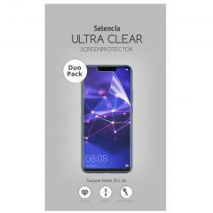 Selencia Protection d'écran Duo Pack Ultra Clear Huawei Mate 20 Lite