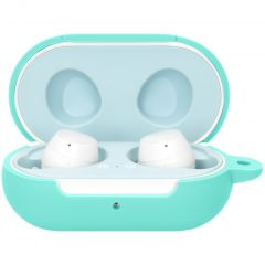 iMoshion Coque en silicone Galaxy Buds Plus / Buds - Turquoise