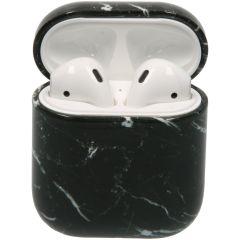iMoshion Coque hardcover AirPods - Marbre Noir