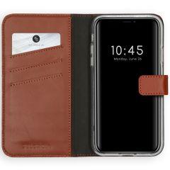 Selencia Étui de téléphone en cuir véritable iPhone 11