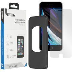 Accezz Protection d'écran Glass + Applicateur iPhone SE (2020)