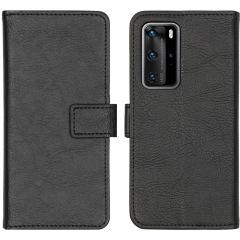 iMoshion Étui de téléphone portefeuille Luxe Huawei P40 Pro - Noir