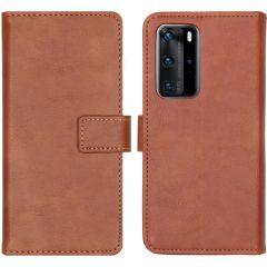 iMoshion Étui de téléphone portefeuille Luxe Huawei P40 Pro - Brun