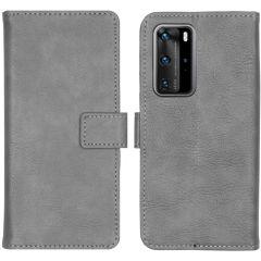 iMoshion Étui de téléphone portefeuille Luxe Huawei P40 Pro - Gris