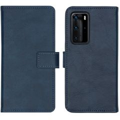 iMoshion Étui de téléphone portefeuille Luxe Huawei P40 Pro - Bleu
