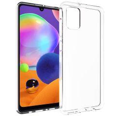 Accezz Coque Clear Samsung Galaxy A31 - Transparent