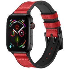 iMoshion Bracelet en cuir véritable Apple Watch 1-6 / SE -38/40mm