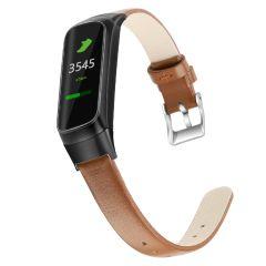 iMoshion Bracelet en cuir véritable Samsung Galaxy Fit - Brun