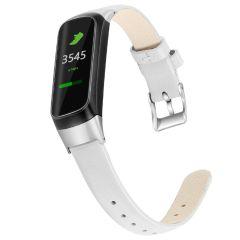 iMoshion Bracelet en cuir véritable Samsung Galaxy Fit - Blanc