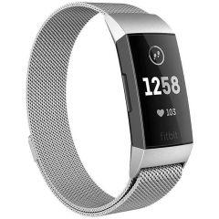 iMoshion Milanais Watch bracelet Fitbit Charge 3 / 4 - Argent