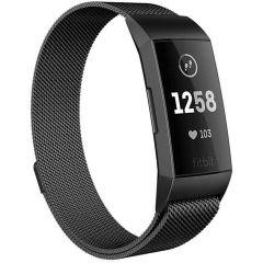 iMoshion Milanais Watch bracelet Fitbit Charge 3 / 4 - Noir