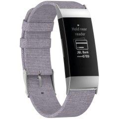 iMoshion Bracelet en nylon Fitbit Charge 3 / 4 - Gris