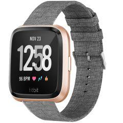 iMoshion Bracelet en nylon Fitbit Versa 2 / Versa Lite - Gris
