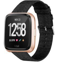 iMoshion Bracelet en nylon Fitbit Versa 2 / Versa Lite - Noir