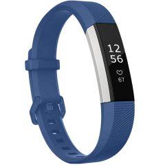 iMoshion Bracelet silicone Fitbit Alta (HR) - Bleu foncé