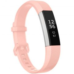 iMoshion Bracelet silicone Fitbit Alta (HR) - Rose