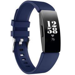 iMoshion Bracelet silicone Fitbit Inspire - Bleu foncé