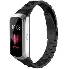 iMoshion Bracelet de montre en acier Samsung Galaxy Fit - Noir