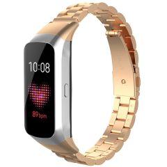 iMoshion Bracelet de montre en acier Samsung Galaxy Fit - Rose