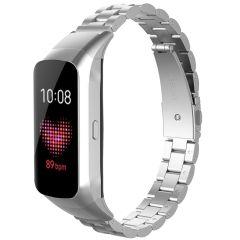 iMoshion Bracelet de montre en acier Samsung Galaxy Fit - Argent