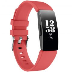 iMoshion Bracelet silicone Fitbit Inspire - Rouge