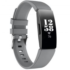 iMoshion Bracelet silicone Fitbit Inspire - Gris