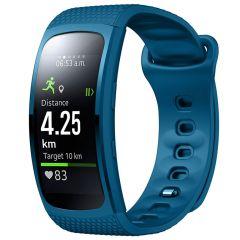 iMoshion Bracelet silicone Samsung Gear Fit 2 / 2 Pro - Bleu