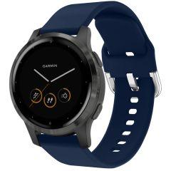 iMoshion Bracelet silicone Garmin Vivoactive 4L - Bleu foncé