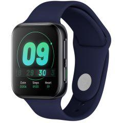 iMoshion Bracelet silicone Oppo Watch 46 mm - Bleu foncé