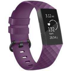 iMoshion Bracelet silicone Fitbit Charge 3 / 4 - Violet
