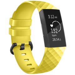 iMoshion Bracelet silicone Fitbit Charge 3 / 4 - Jaune