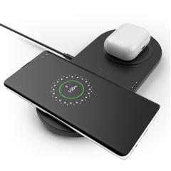 Belkin Dual Wireless Fast Charging Pad - 10W - Noir