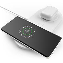 Belkin Dual Wireless Fast Charging Pad - 10W - Blanc