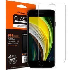 Spigen Protection d'écran Duo Pack GLAStR iPhone SE (2020) / 8 / 7