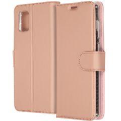 Accezz Étui de téléphone Wallet Samsung Galaxy A31 - Rose Champagne