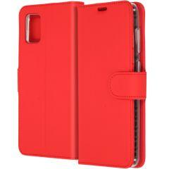Accezz Étui de téléphone Wallet Samsung Galaxy A31 - Rouge