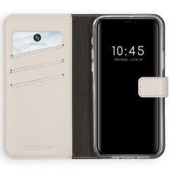 Selencia Étui de téléphone en cuir véritable iPhone 12 (Pro)